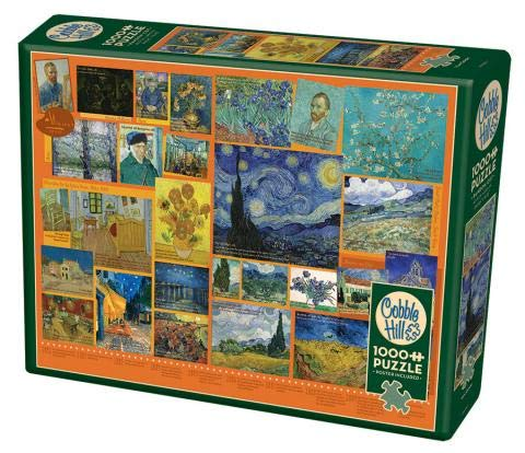 Cobble Hill 1000 Piece Puzzle - Van Gogh - Sample Poster Included