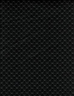 Black Perforated Distressed Upholstery Faux Leather Vinyl Fabric Per Yard