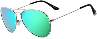 Rocf Rossini Gafas de Sol Aviador para Mujer Gafas Polarizadas Retro de Hombre con Protección UV400 para Pescar Conducir P...