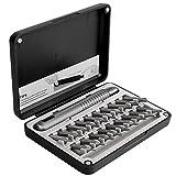 Nasjac 20 en 1 Juego de Destornilladores Magnéticos de Precisión, Kit de Herramientas de Reparación Portátil de Actualización con Estuche Magnético para Anteojos de Computadora Ipad Mac