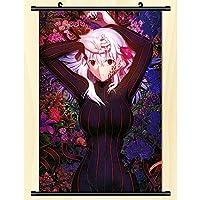 ウォールスクロールポスターFate/staynightアニメウォールハンギングポスターアニメーション周辺ファンギフト-50x75cm,20inchx30inch