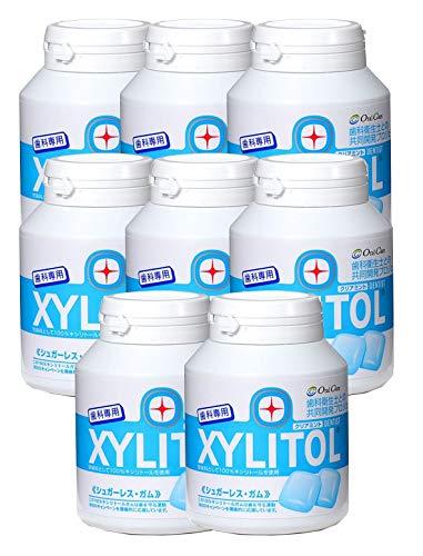 歯科専用 キシリトールガム ボトルタイプ クリアミント(約90粒) 8個セット