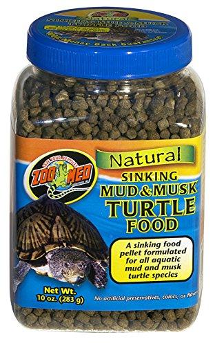 ZooMed Mud & Musk Sinking Aquatic Turtle Food 10 oz.