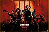 Trends International Call of Duty: Black Ops 4 - Zombie Key Art Wall Poster, 22.375' x 34', Unframed Version
