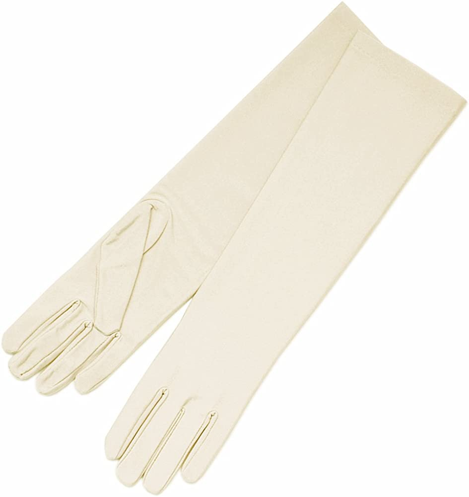 Simply Sleek Elbow Length Matte Finish Gloves