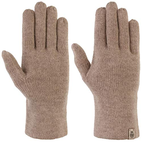 Roeckl Pure Cashmere Handschuhe Kaschmirhandschuhe Fingerhandschuhe Damenhandschuhe Wollhandschuhe (One Size - beige)