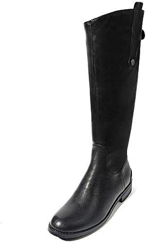 HOESCZS Plus Tamaño 34-43 Marca schuhe de damen Stiefel de Montar de Moda Moda de la Mejor Calidad Stiefel hasta la Rodilla de Invierno schuhe de damen