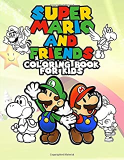 Best mario coloring pages online Reviews