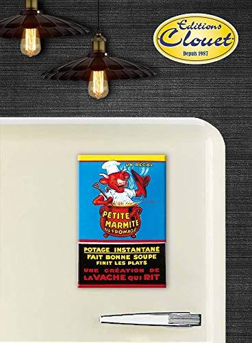 La vaca que ríe-10 x 15 cm, diseño de postal
