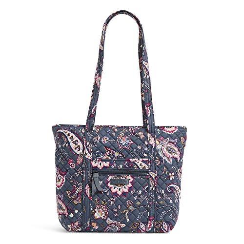 Vera Bradley womens Signature Cotton Small Vera Tote Handbag, Felicity Paisley, One Size US