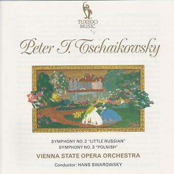 Tchaikovsky: Symphony No. 2 & No. 3