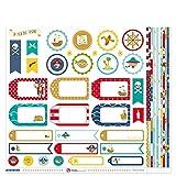 Anita y su mundo Isla del Tesoro Papeles Scrapbooking, Multicolor, 30,5x30,5cm, 13