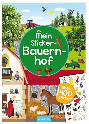 Mein Sticker-Bauernhof: Über 400 Sticker | Stickerheft für Bauernhof-Fans ab 4 Jahren (Mein Stickerbuch)