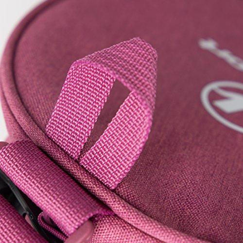 【Amazon限定ブランド】ウルトラスポーツヨガマットバッグラージサイズ小物用ポケット付き出し入れしやすいファスナー全開タイプ