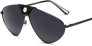 偏光サングラス UV カット超軽量スポーツのサングラス、メタル フレーム TAC レンズ、男性女性に適して