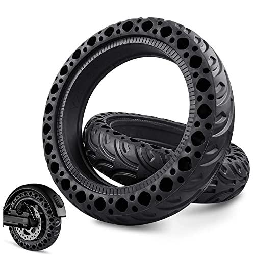 SUYUDD Neumático De Scooter Eléctrico, Neumáticos De Panal Macizo para Neumáticos Sólidos De 8,5 Pulgadas Accesorios para Neumáticos De Rueda Delantera/Trasera De Scooter Eléctrico