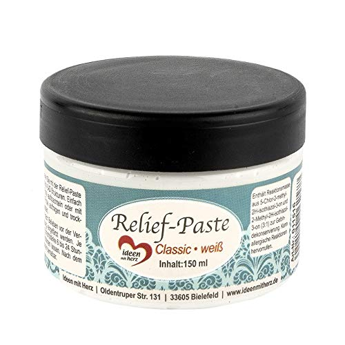 Relief-Paste | classic | weiß | 150 ml
