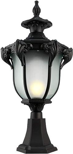 Lanternes Phares De Colonne Phares De Colonne D'extérieur en Pelouse Européenne Appliques Murales Extérieures étanches Lampes De Porte Patio Lampes De Jardin pour Paysage De Villa