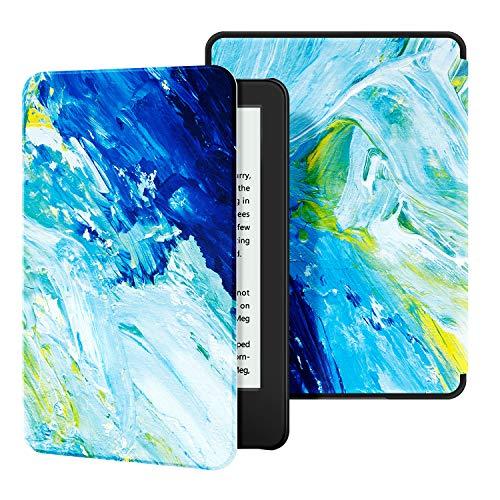 Estuche Ayotu para Kindle (10ª generación, versión 2019) - Funda de Cuero de PU Compatible con el Kindle 2019 de Amazon (no encajará con Kindle Paperwhite o Kindle Oasis),The Oil Painting