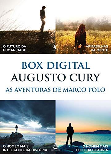 Box As Aventuras de Marco Polo: O futuro da humanidade • Armadilhas da mente • O homem mais inteligente da história • O homem mais feliz da história
