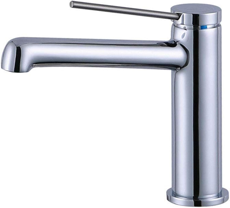 JFFFFWI Küche Kupfer Chrom Plus Langen Mund hei und kalt Waschbecken Wasserhahn