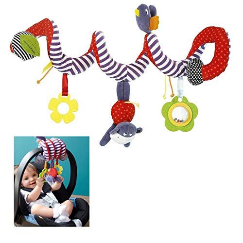 Espiral Actividad Colgante Cochecito Juguetes Forma Diseño Cochecito y Viaje Actividad Juguete para Bebé Asiento Coche Cama Bebé
