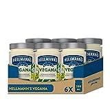 Hellmann's Salsa Vegana 270g - Pack de 6