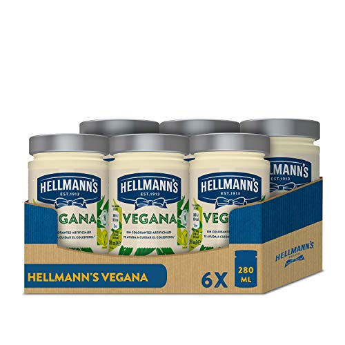 Hellmann's Vegana – 280 ml – Pack de 6: total de 1.68L