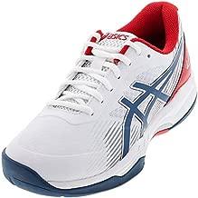 ASICS Men's Gel-Game 8 Tennis Shoes, 10, White/MAKO Blue