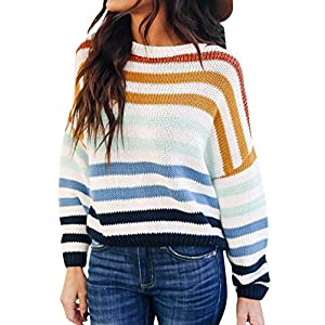 Women's Lightweight Sweater  Oversized Casual  Knit Pullover