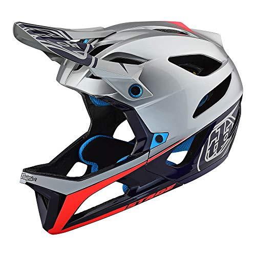 Troy Lee Designs Enduro MTB-Helm Stage MIPS Silber Gr. M/L