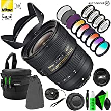 Nikon AF-S NIKKOR 18-35mm f/3.5-4.5G ED Lens with Creative Filter Kit and Pro Cleaning Accessories