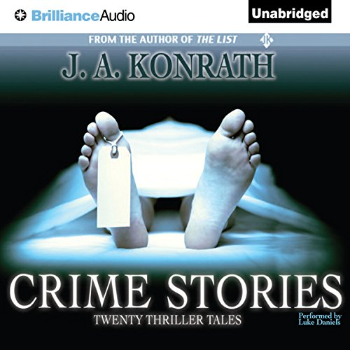 Crime Stories audiobook cover art