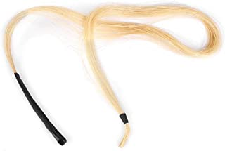 Horsetail Hair Erhu Bow Hairs Accessory String Parts for Violin Viola Cello Instruments