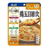 ◆アサヒグループ食品 バランス献立 鶏五目雑炊 100g【3個セット】