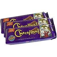 PACK de 3 Galletitas CHOCOLINAS de Chocolate de BAGLEY. Las autenticas galletitas Argentinas. Pack especial Chocotorta.
