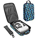 Zaracle Hard Travelling Case Storage Case Protective Pouch Bag Carrying Case for Oculus Quest 2 and Oculus Quest All-in-one VR Gaming Headset (Blue)
