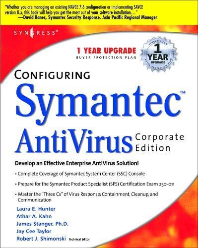 Configuring Symantec AntiVirus Corporate Edition