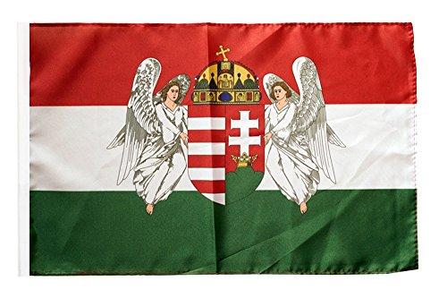 Flagge / Fahne Ungarn Königreich 1867-1918 + gratis Sticker, Flaggenfritze®
