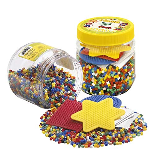 HAMA BEADS 2052 Kit de Mosaico - Kits de Mosaico (Multicolor, 4000 Pieza(s))