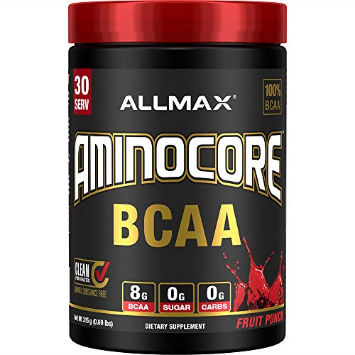 AllMax Nutrition Aminocore BCAA, Fruit Punch, 401 g