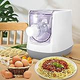 InLoveArts Máquina de Pasta eléctrica, máquina de Fideos de 13 moldes, Pantalla LCD, automática para Crear Pasta Fresca Que Incluye Espaguetis, macarrones y Piel de Bola de Masa en 15 Minutos