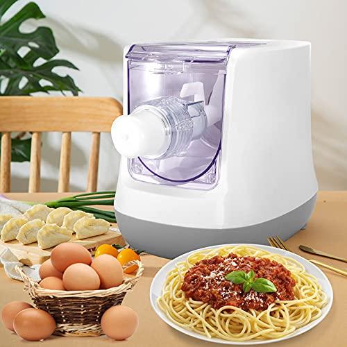 InLoveArts Máquina de Pasta eléctrica, máquina de Fideos de 13 moldes, Pantalla...
