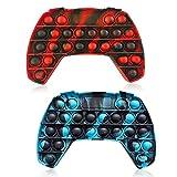 LGZIN Fidget Toy, 2 Piezas Juguete Sensorial antiestrés, Sensorial Fidget Juguete, Bubble Push Juguetes, Juguetes Antiestres, para Aliviar el Estrés y la Ansiedad para Niños y Adultos (Manipolare)