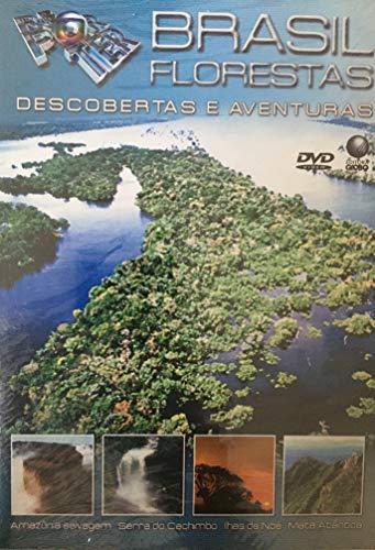 DVD Globo Reporter - Brasil Florestas: Amazônia Selvagem, Serra do Cachimbo, Ilhas de Noé, Mata Atlântica