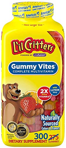 Lil Critters Gummy Vites Multi Vitamin & Mineral Formula, 275-Count Bottle