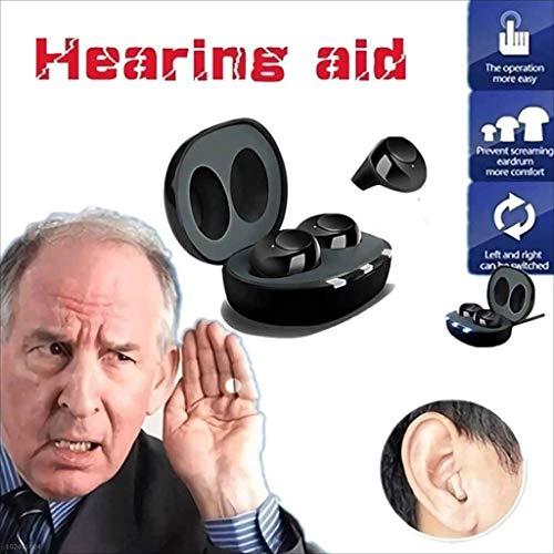 Portable klankkast met oplaadbare geluidsversterkers, helder geluid, ouderen gehoorapparaten, regelbaar volume, Bluetooth verschijning