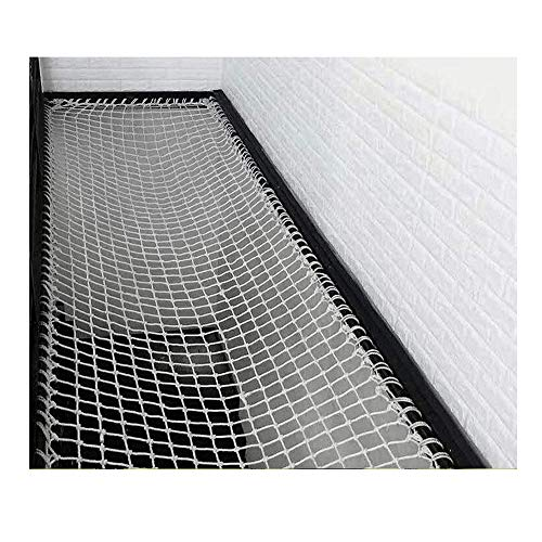 JHKJ Safety Nets, Netting Decor Mesh, Outdoor Balcony and Stairway Deck Rail Safety Net and Deck Netting for Pets and Children Safety Net Fence,2X 5m(6.6 16.4ft)