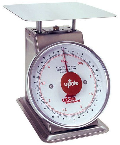 Update International (UPS-840) 40 Lb S/S Shipping and Receiving Scale