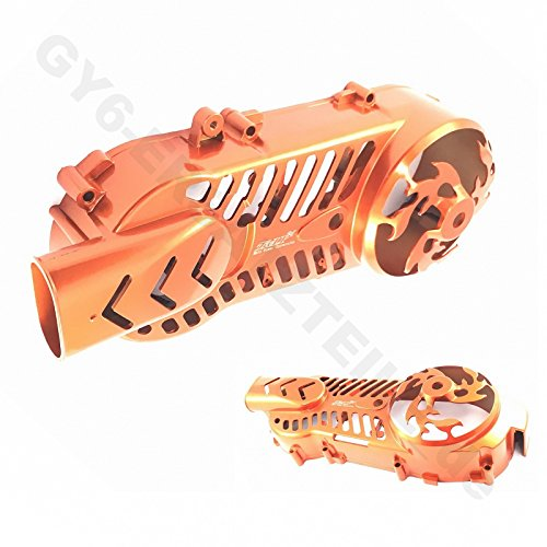 TUNING - STYLING VARIOMATIK- / KICKSTARTER- / KUPPLUNGS DECKEL - MOTORDECKEL LINKS * 40,7cm z.B.für BAOTIAN BENZHOU YIYING HYOSUNG ZNEN CHINA ROLLER…125-200cc / 152QMI / 157QMJ / 4-TAKT